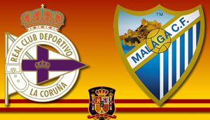 Deportivo de La Coruna vs Malaga
