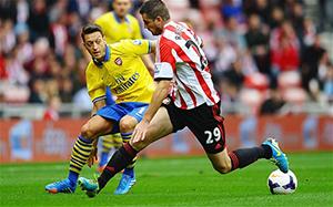 (FOTBAL) Arsenal, într-o formă mai bună în meciul cu Sunderland