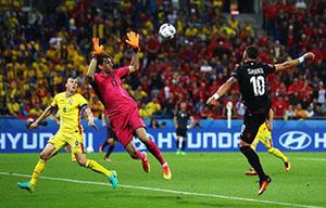 Franța câștigă grupa după ce Albania învinge România