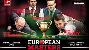 European Masters Începe la București