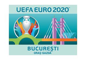 Logo-ul Bucureștiului pentru EURO 2020 la Arena Națională